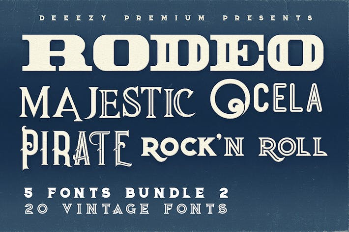 Thumbnail for 5 Fonts Bundle 2