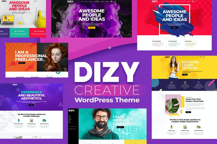 Thumbnail for Dizy - Creative Portfolio Theme