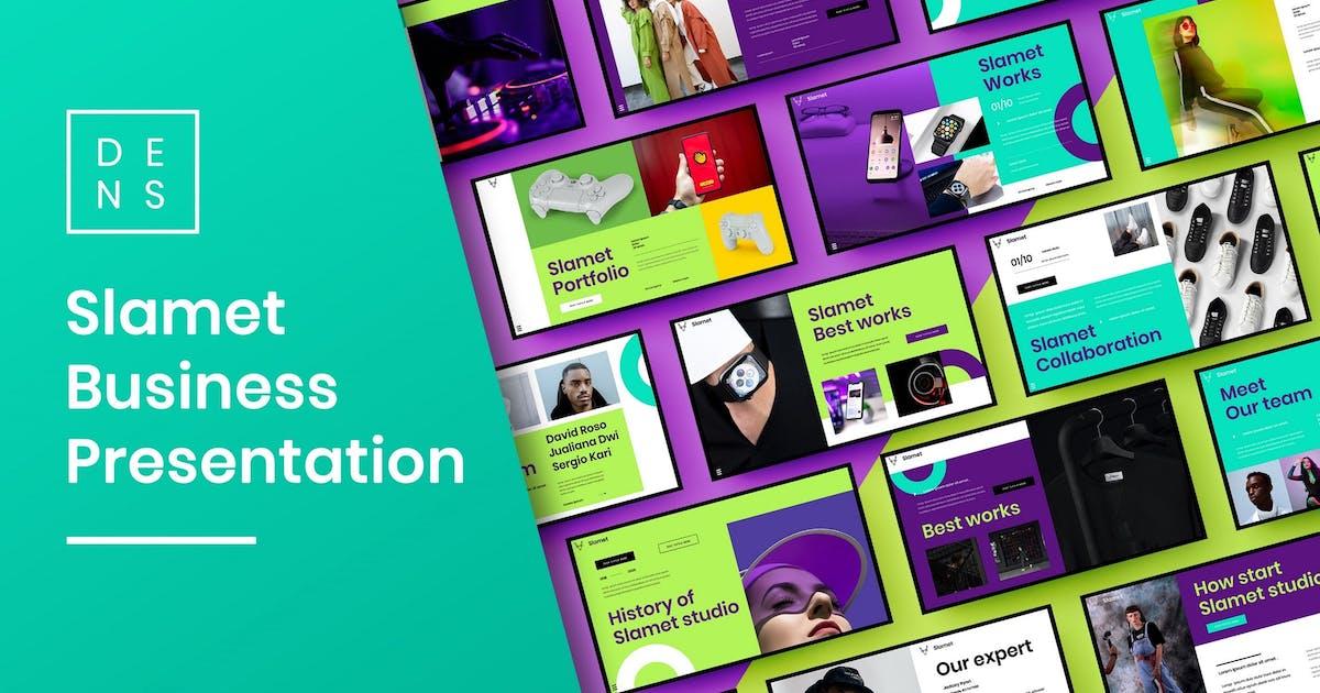 Download Slamet – Business PowerPoint Template by DensCreativeStudio
