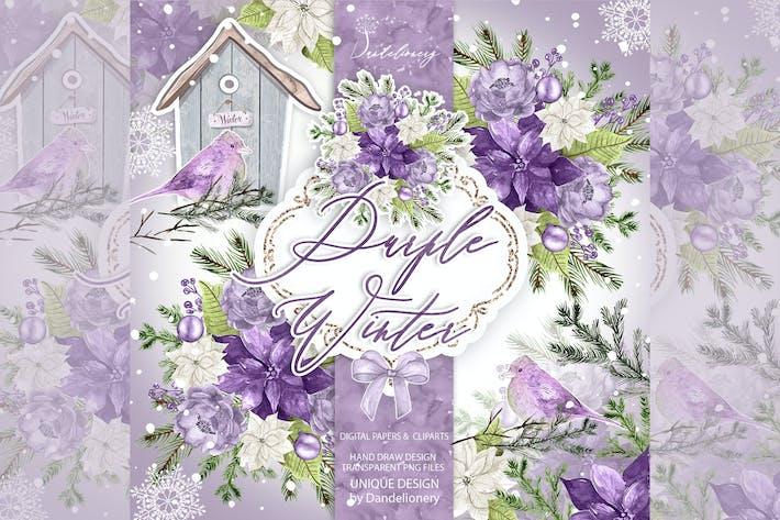 Thumbnail for Purple Winter design