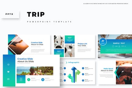 Trip - Шаблон Powerpoint