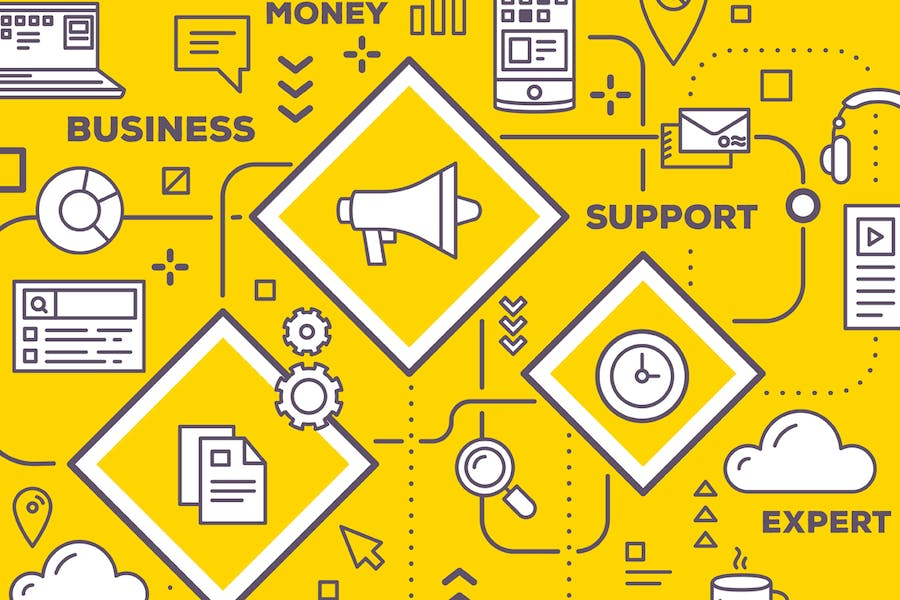 Business infographics templates