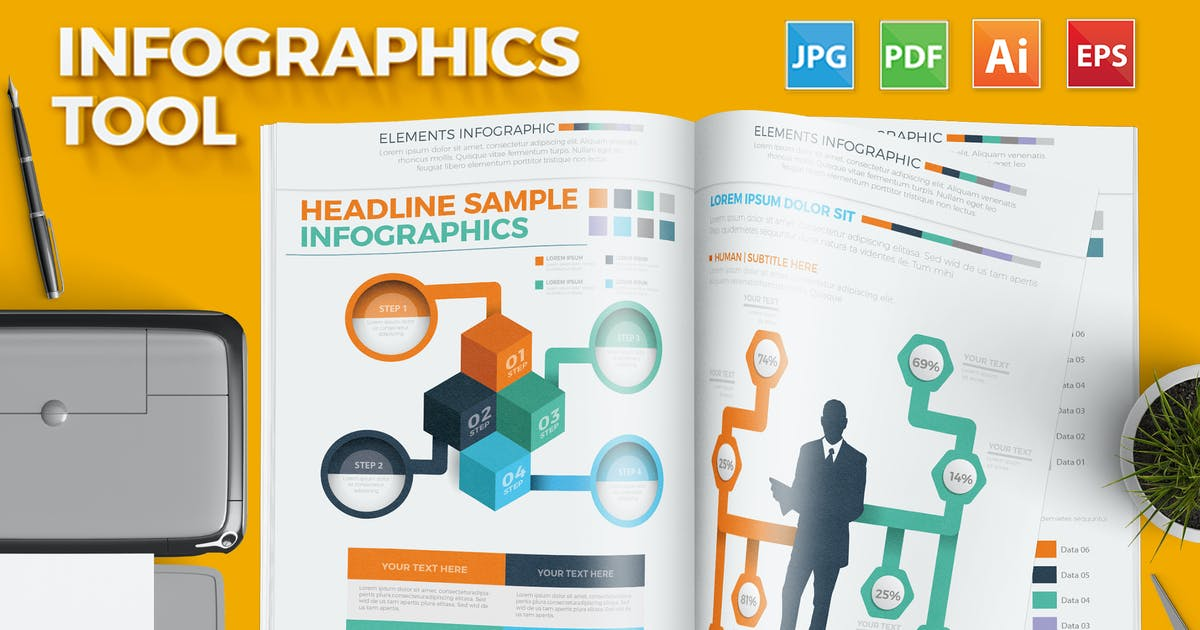 Download Infographics Tool by mamanamsai