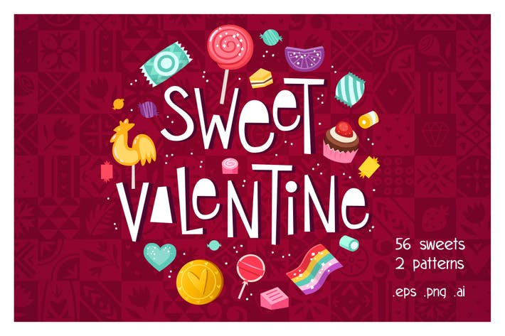 Thumbnail for Valentine's day sweets set