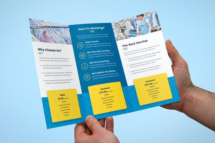 Thumbnail for Brochure – Laundry Tri-Fold