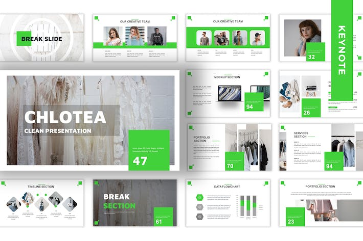 Thumbnail for Chlotea - Business Keynote Template