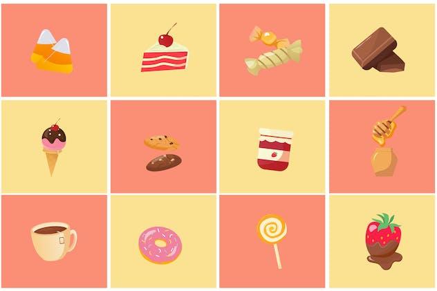 Sweet Cake Icon Pack