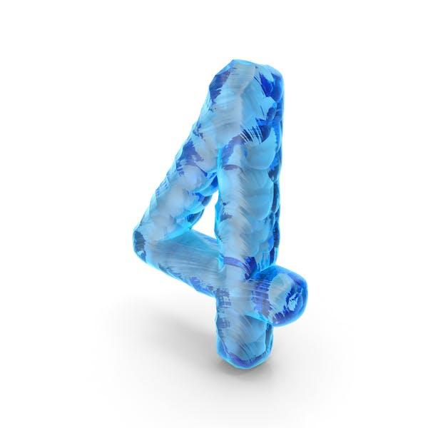 Ice Alphabet Number 4