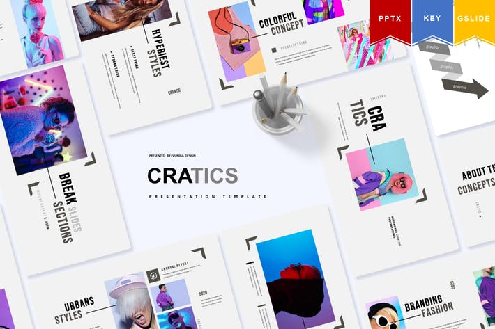 Thumbnail for Cratic | Powerpoint, Keynote, Google Slides