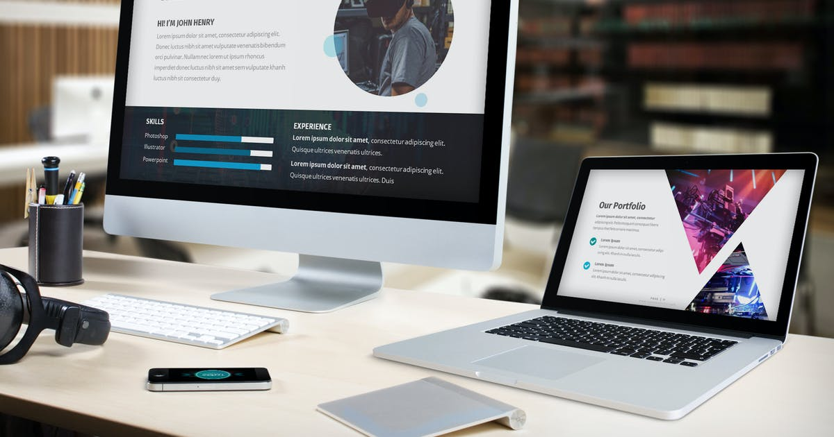 Download Techno - Technology Keynote Template by SlideFactory