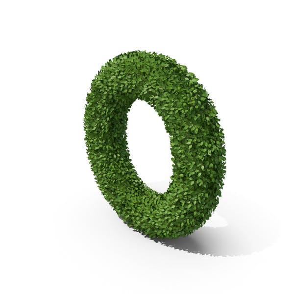 Hedge Shaped Letter O