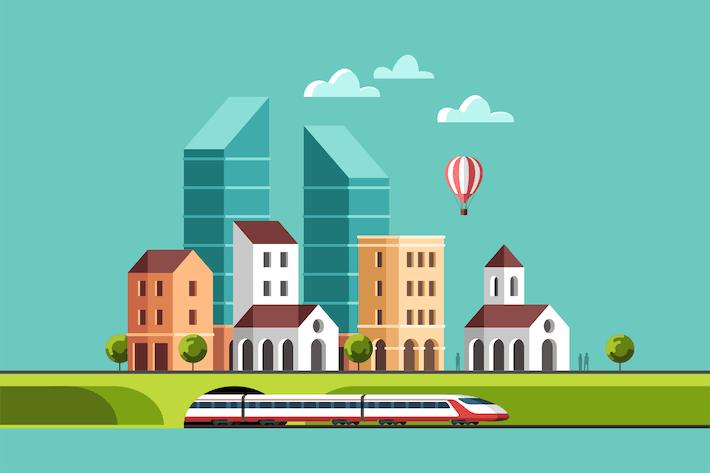 Big City Cityscape