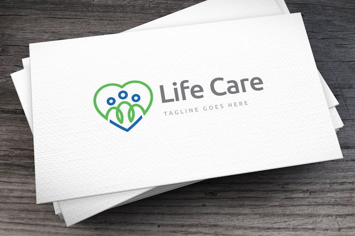 Thumbnail for Life Care Logo Template