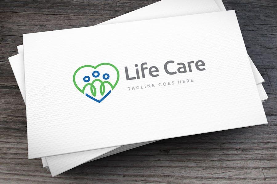 Life Care Logo Template