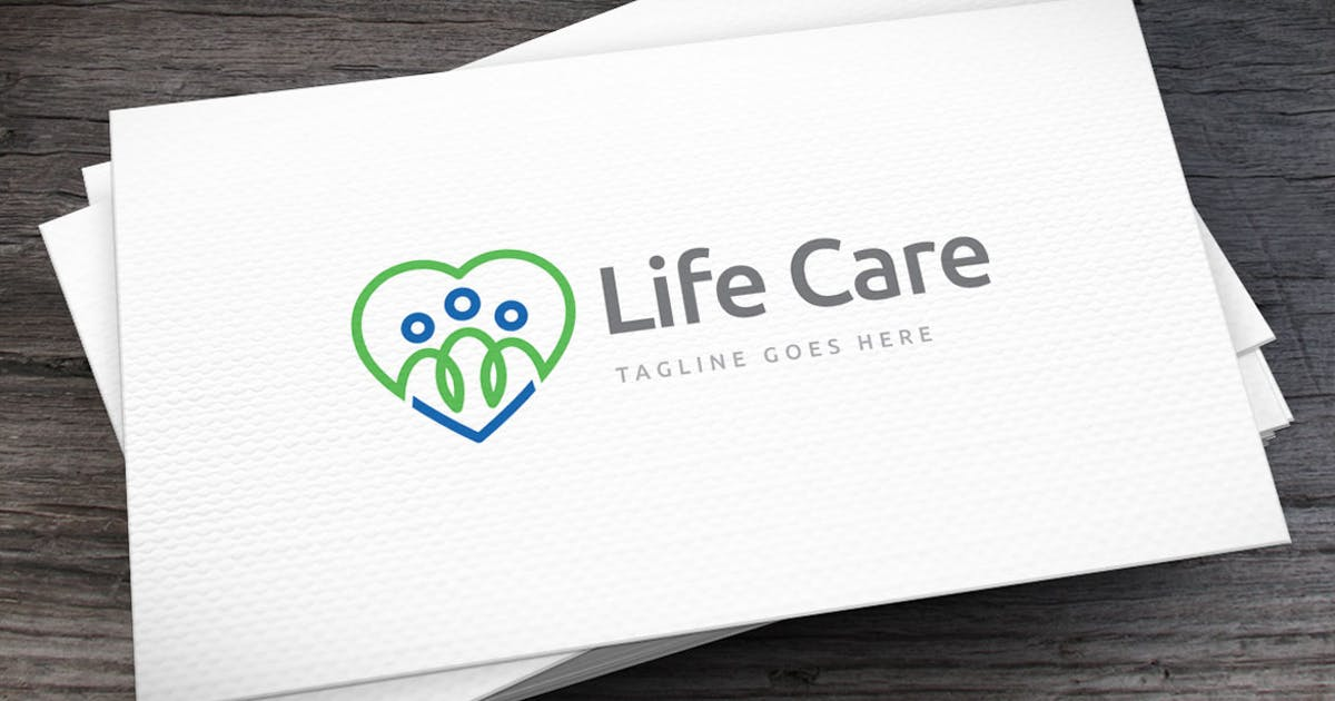 Download Life Care Logo Template by empativo