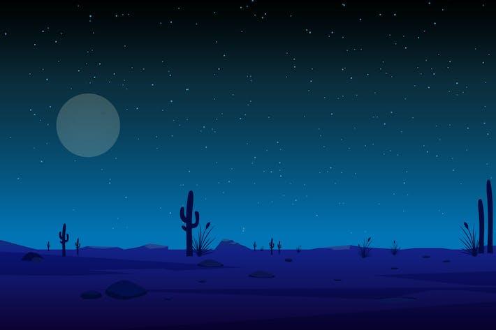 Thumbnail for Night Sky - Vector Illustration