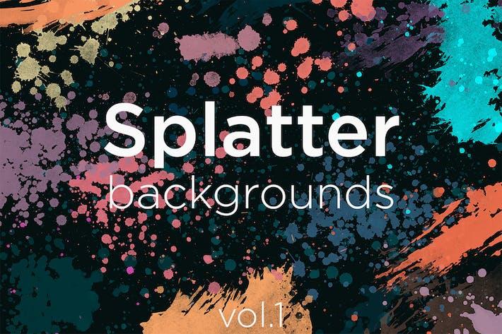 Thumbnail for Splatter Backgrounds 1