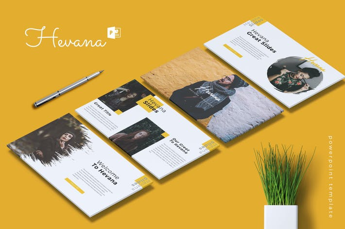 Thumbnail for HEVANA - Fashion Powerpoint Template