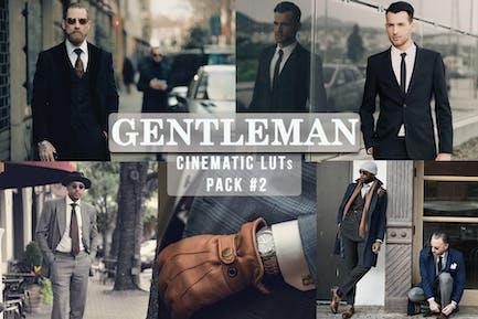 Gentlemen Cinematic LUTs Pack #2
