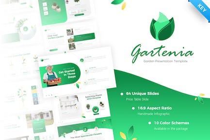 Gartenia Gardening Keynote Template