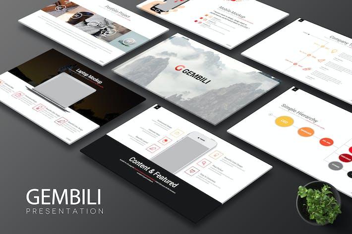 Thumbnail for Gembili - Keynote Template