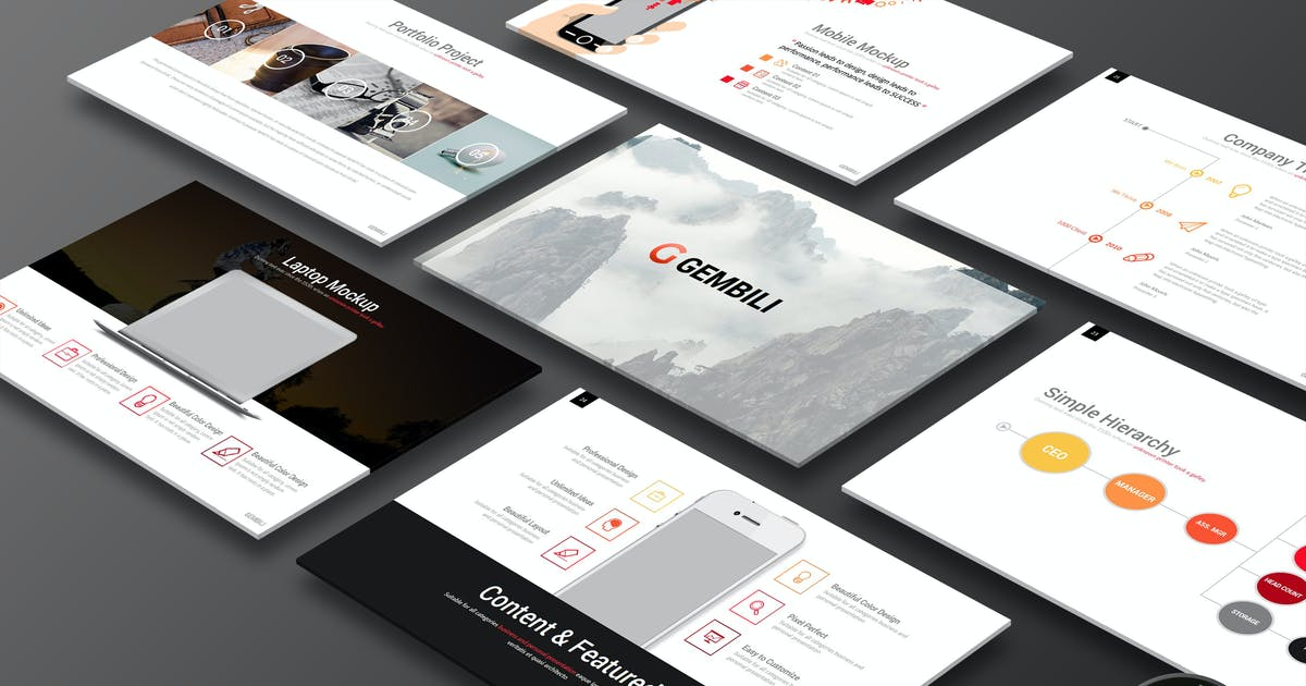 Download Gembili - Keynote Template by Artmonk