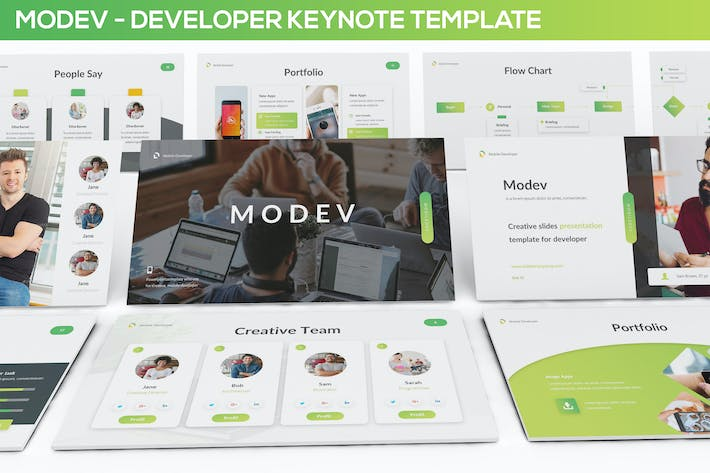 Thumbnail for Modev Keynote - Developer Presentation Template