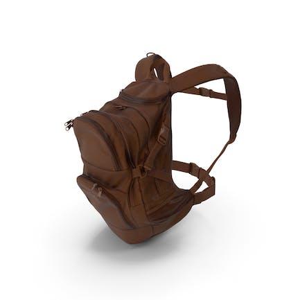 Camping Backpack Medium Brown