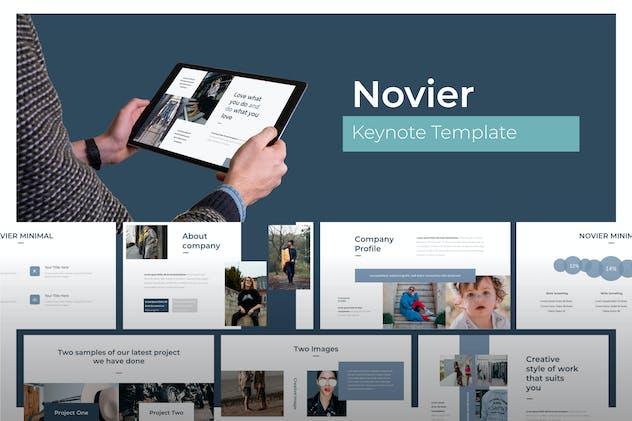 Novier - Keynote Template