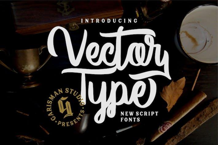 Vector Type | Handlettering Font