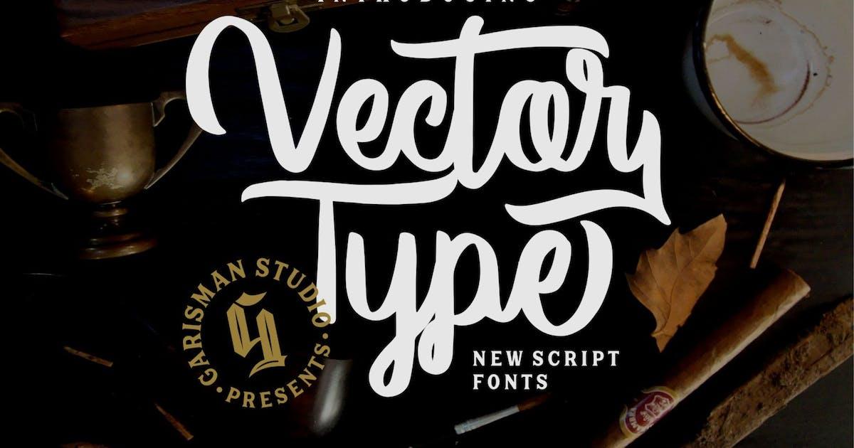 Download Vector Type | Handlettering Font by garisman