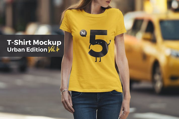 Thumbnail for T-Shirt Mockup Urban Edition Vol. 4