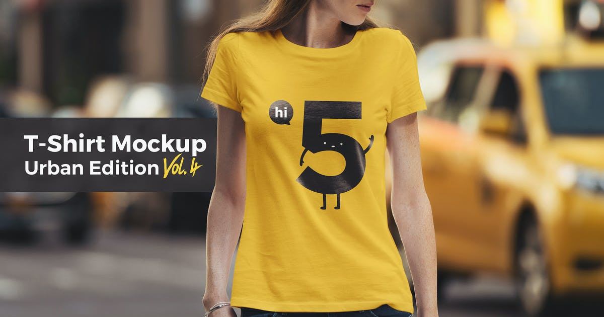 Download T-Shirt Mockup Urban Edition Vol. 4 by Genetic96