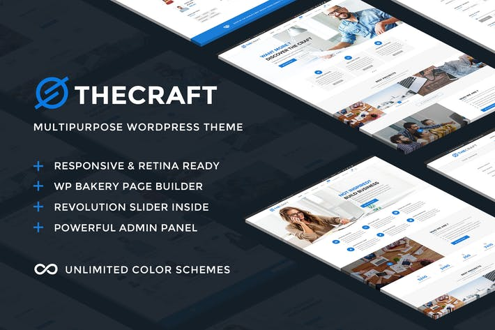 Thumbnail for TheCraft - Responsive Multipurpose WordPress Theme