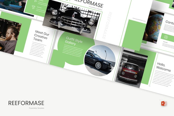 Thumbnail for Reeformase - Powerpoint Template