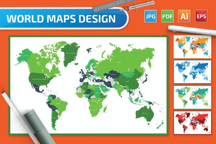 Thumbnail for 10 Word Map Design