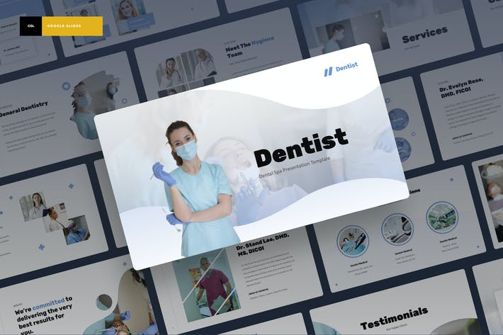 Thumbnail for Стоматолог - Dental Spa Google Слайды Презентация