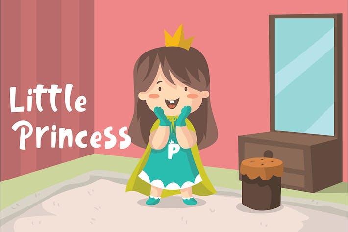 Thumbnail for Little Princess - Vector Illustration