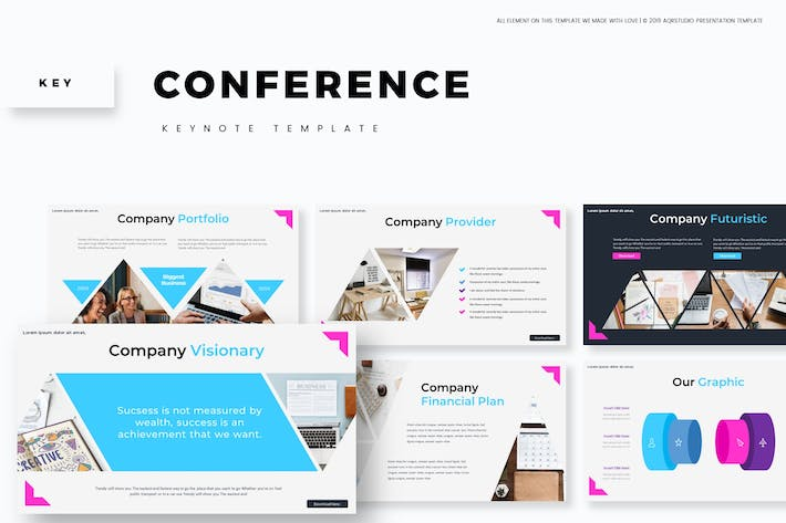 Thumbnail for Conference - Keynote Template