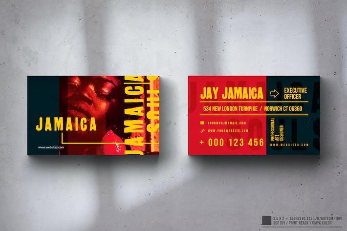 Jamaica Business Card Design