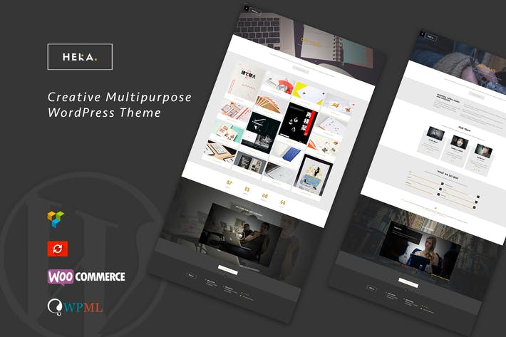 Thumbnail for Hera - Creative Multipurpose WordPress Theme