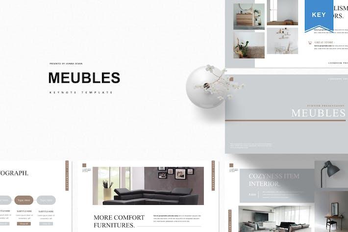Thumbnail for Meubles |  Keynote Template
