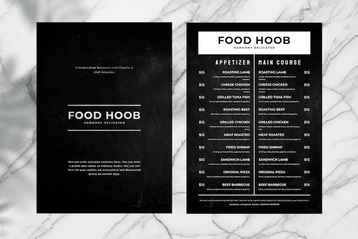 Thumbnail for Blackboard Food Menu. 06