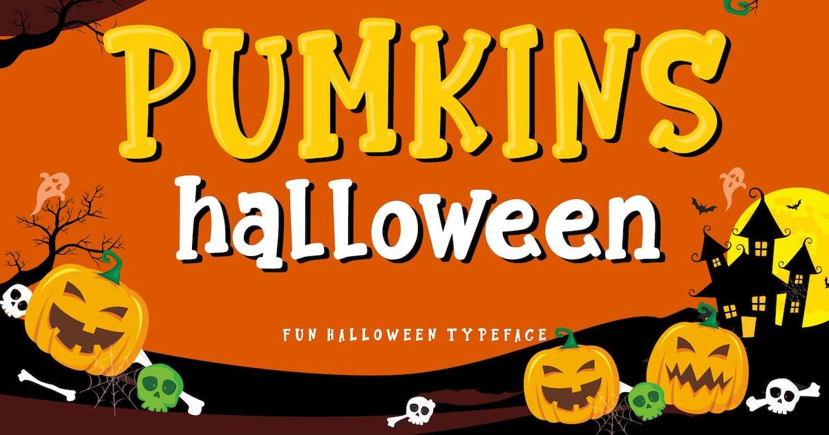Download Pumkins Halloween Fun Typeface by RahardiCreative