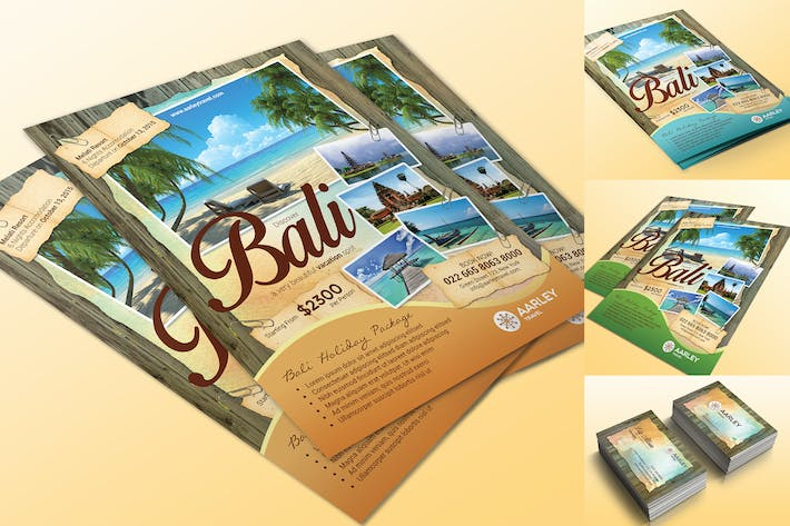 Thumbnail for Travel Flyer + Business Card