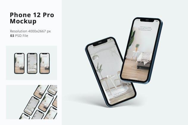Phone 12 Pro Mockup Vol 02