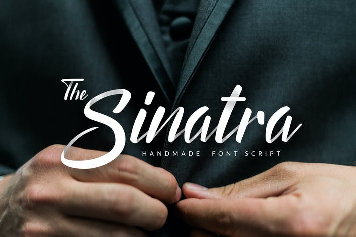 Thumbnail for The Sinatra - Handmade Font