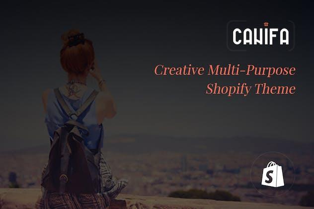 Canifa | Creative Multi-Purpose Shopify Theme