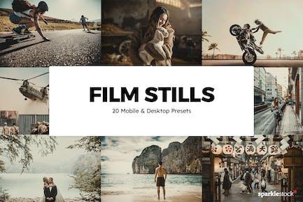 20 Film Stills Lightroom Пресеты Lightroom и LUT