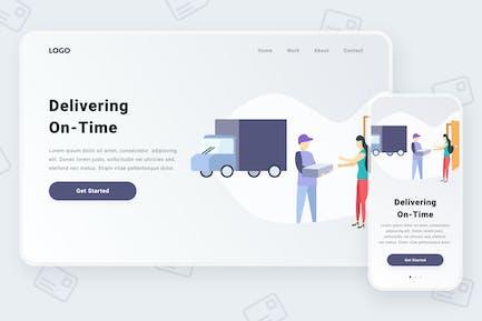 Delivering illustration